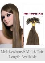 4Ocm Bâton/I Tip Extensions Élégantes De Cheveux Naturels