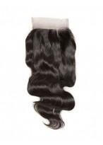 Closure 3 Part Cheveux Humains Lace