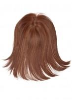 Postiche Mi-Long Lisse De Cheveux Naturels