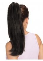 40Cm Queue De Cheval Longues Lisses De Cheveux Naturels