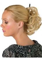 Chignon Blond De Style Scrunchie