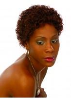 Perruque Afro-Américaine Synthétique Frisée Courte