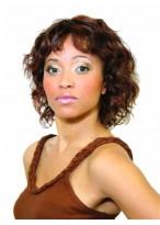 Perruque Synthétique Ondulée Pour Femme Noire