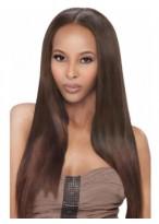 Perruque Longue Lisse Full Lace De Cheveux Naturels