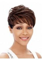 Perruque Afro-Américaine Lisse Courte En Vogue