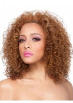 Perruque Afro-Américaine Longue Multicouche