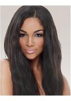Perruque Afro-Américaine Lisse Belle Lace Front