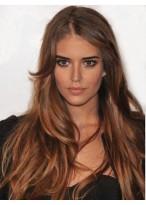 Perruque Nouveau Style Ondulée Lace Front Cheveux Naturels