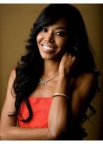 Perruque Longue Ondulée Afro-Américaine Pour Les Femmes
