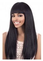 Perruque Lisse Merveilleuse Capless Cheveux Naturels