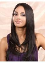 Perruque Eblouissante Cheveux Naturels Lisse Lace Front