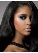 Perruque Résistante Lisse Lace Front Cheveux Naturels