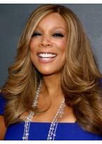 Perruque La Plus Populaire Ondulée Lace Front Cheveux Naturels
