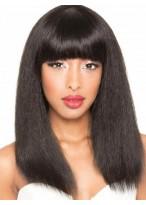Perruque Incroyable Lisse Cheveux Naturels Capless