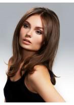 Perruque Classique Lisse Lace Front Cheveux Humains