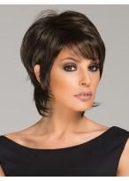Perruque Confortable Lisse Capless Cheveux Humains