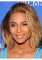 Perruque En Vogue Ondulée Lace Front Cheveux Naturels