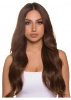 Perruque Formidable Ondulée Lace Front Cheveux Naturels