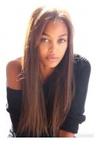 Perruque Parfaite Lisse Lace Front Cheveux Naturels