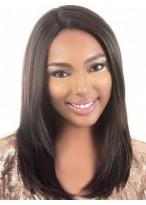 Perruque Lisse Soyeuse Lace Front Cheveux Naturels