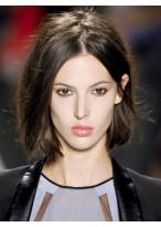 Perruque Bob Classique Lisse Lace Front Cheveux Naturels