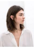 Perruque Bob Chic Lisse Lace Front Cheveux Naturels