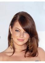Perruque Lisse Lace Front De 100% Cheveux Naturels