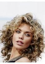 Perruque Mi-Longue Ondulée Full Lace De Style Annalynne Mccord