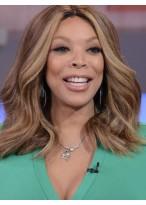 Perruque Fabuleuse Ondulée Lace Front Cheveux Naturels De Style Wendy Williams