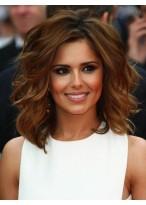 Perruque Mi-Longue Ondulée De Style Cheryl Cole