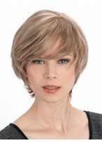 Perruque Abordable Lisse Capless Cheveux Naturels
