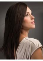 Perruque Longue Lisse Capless De Cheveux Naturels