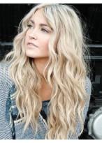 Perruque Abordable Cheveux Naturels Ondulée Lace Front