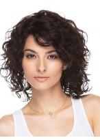 Perruque Flatteuse Cheveux Naturels Ondulée Capless