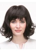Perruque Nouveau Style Ondulée Capless Cheveux Naturels