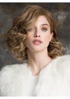 Perruque Cheveux Naturels Ondulée Lace Front
