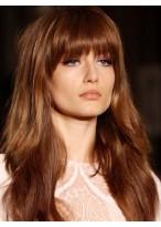 Perruque Durable Ondulée Capless Cheveux Naturels