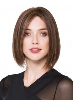 Perruque Classique Lisse Lace Front Cheveux Naturels
