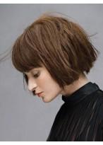 Perruque Chic Lisse Capless Cheveux Naturels