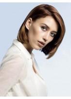 Perruque Moderne Lisse Lace Front Cheveux Naturels