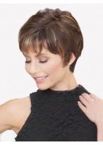 Perruque Confortable Lisse Capless Cheveux Naturels
