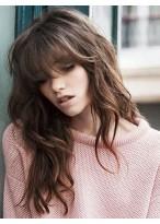 Perruque Souple Ondulée Capless Cheveux Naturels