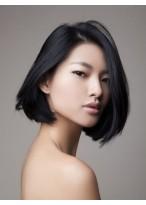 Perruque Populaire Lisse Lace Front Cheveux Naturels