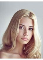 Perruque Parfaite Ondulée Lace Front Cheveux Naturels