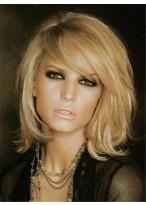 Perruque Brillante Lisse Capless Cheveux Naturels