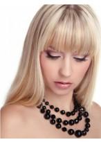 Perruque Durable Lisse Capless De Cheveux Naturels