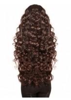 Perruque Ondulée Capless De Cheveux Naturels