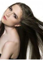 Perruque Soyeuse Lisse Lace Front De Cheveux Naturels