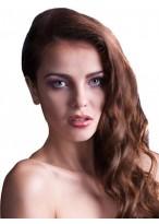Perruque Élégante Lace Front De Cheveux Naturels