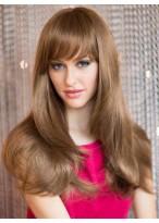 Perruque Lisse Capless De Cheveux Naturels